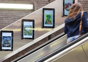 Mobile data gives posters big lift