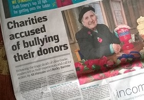 Charities hit again as row escalates.jpg 1