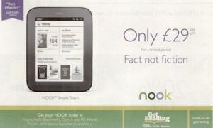 Barnes & Noble Nook campaign