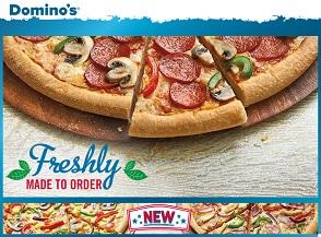 Domino's online sales soar to 70
