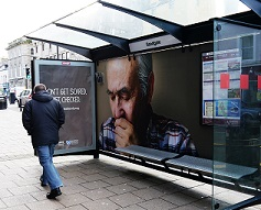 Scots targeted by 'coughing' poster