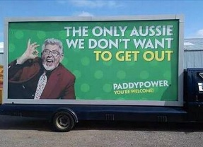 paddy power pulls Rolf Harris ad