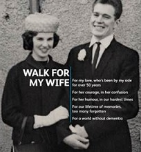walk the line, says alzheimer's charity
