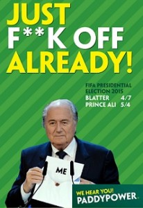 Fk off Blatter ad gets thumbs up