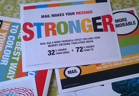 Mailings drive positive brand effect
