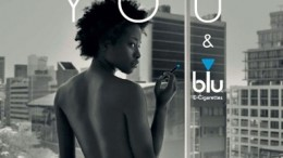 Blu ad front cover