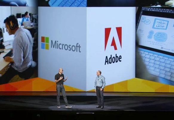 microsoft-and-adobe