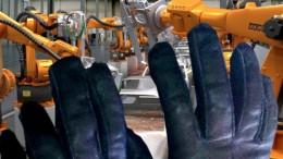 Robots-making-a-car