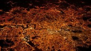 London-at-night-from-air