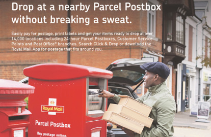 Image result for royal mail click and drop site