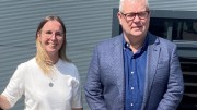 Joe Garton & Trudy Wilson sign on STORM ACQUISITION